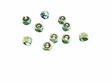 NYLOC NUTS STAINLESS NYLON LOCKING NUTS 2,3,4,5,6mm x10pieces