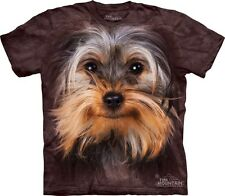 Big Face Yorkshire Terrier T-Shirt Mountain Company.  Dog Head Tees S-3XL NEW