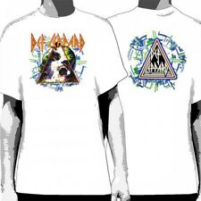 OFFICIAL Def Leppard - Hysteria White T-shirt NEW Licensed Band Merch ALL SIZES