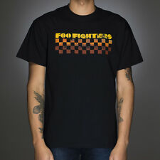 OFFICIAL Foo Fighters - Checkers Black T-shirt NEW Licensed Band Merch ALL SIZES