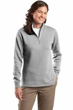 Sport-Tek New Ladies 1/4-Zip Sweatshirt Pullover Warm Gym Yoga XS-4XL LST253