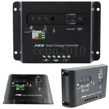 10A/20A/30A 12V/24V PWM Solar Panel Battery Charge Charging Controller Regulator