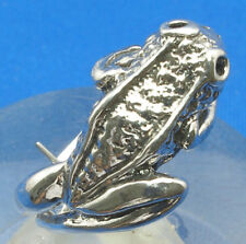 Sterling Silver Wrap-Around Frog Ring, sizes 4 - 12, hand made to order