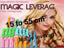 DIY Magic Circle Hair Styling Rollers Curlers Leverag perm 15 to 55 cm