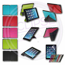 Ultra Slim Smart Magnetic Leather Cover Case for Apple iPad Air Folding Origami