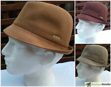 KANGOL Tropic Duke Hat - Trilby K0235CO Fedora Style Light Cap With Brim New