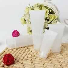 Soft Empty Polish Tube Clear Makeup Cosmetic Cream Lotion Travel Containers Case