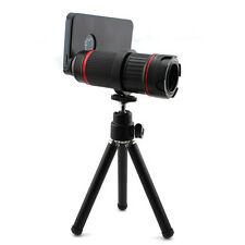 4X To 12X Zoom Focus Telescope Camera LENS Tripod For IPhone 4 4S 5 5S 5C