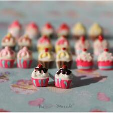 FUNKY CUTE MINI CAKE STUD EARRINGS GIRLS 10MM QUIRKY RETRO SWEET KITSCH FOOD FUN