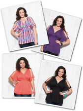New Lot Womens plus size top shirt blouse Multi Color Floral Summer XL 2XL 3XL