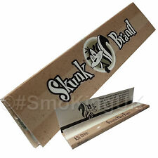 Skunk Brand King Size Slim Pure Hemp Rolling Papers - Choose Number Of Books