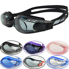 New Waterproof Fog Packed Women's/Men's Swimming Goggles+Cap for Water Sports BT