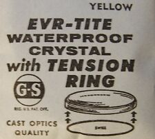 GS EVR-TITE Waterproof Crystals with Yellow Tension Ring 24.5 - 29.5 mm