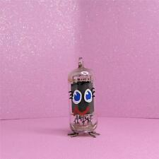 Breast cancer awareness Boob Tube Hand Painted Vintage Vacuum Tube Free ship.