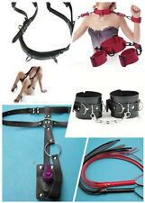Good Market Adult Black/Red Sexy Game Toys SM Simple PU Leather Whip Products
