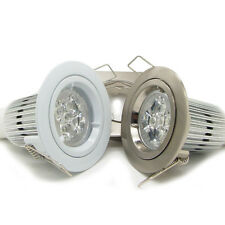 10x 10W LED Downlight Kit GU10 Recessed ceiling down spot light dimmable white