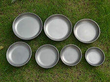 Keith Titanium Plate Dish Camping Picnic Cookware 8 sizes KT361~ KT368