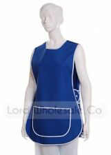 Unisex Tabard Catering Apron Tabbard Cleaning Work Overall /6 Sizes/Plain