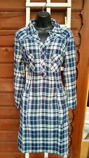 New checked  White Stuff Summer cotton Tunic Dress shirt  Top quality. RRP £49