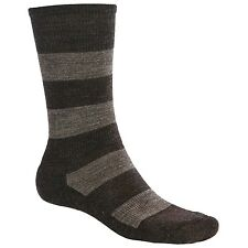 New Men's SMARTWOOL Merino Wool Double Insignia Casual Dress Crew Socks - Large