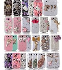 CLEARANCE Luxury 3D Bling Rhinestone Hard Case Cover for SAMSUNG GALAXY S3 i9300