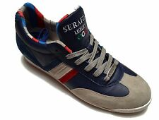 Serafini sneakers 100% leather shoes Men Women Hand made in Italy Casual  2582
