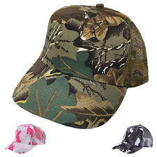 1 Dozen Camouflage Camo Baseball Trucker Mesh Hats Hat Cap Caps Wholesale Lot