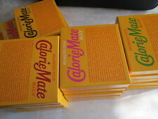 5 BOXES ASSORTED CALORIE MATE BALANCED FOOD BLOCK, NUTRITIONAL ENERGY SUPPLEMENT