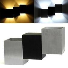 Simple Design LED Wall Sconce Light Indoor Down Uplighter Warm/White Lamp