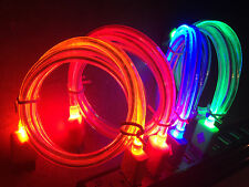 GLOW light-up LED USB 3.0 Data Sync charger Cable FOR samsung galaxy s5 note 3 4