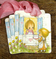 Hang Tags  HAPPY BIRTHDAY CAKE FRIENDS TAGS #472  Gift Tags