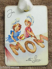 Hang Tags  FRENCH CHOCOLATE BERRY CAKE TAGS #96  Gift Tags