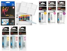 Sakura Koi WaterColor Paint Brush Travel Field Set OR Water Tanks YOUR CHOICE!