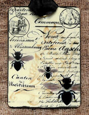 Hang Tags  FRENCH SCRIPT SUMMER HONEY BEE TAGS #76  Gift Tags