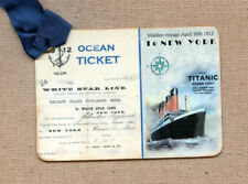 Hang Tags  VINTAGE TITANIC SHIP TICKET TAGS or MAGNET #431  Gift Tags