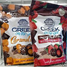 Rickland Orchards Greek on the Go! Yogurt Coated Bites Snack Candy ~ Pick One