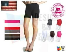 Women Seamless Boy Short Leggings Spandex Tights Stretch S m L One Size  Pants