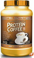 SCITEC NUTRITION WHEY PROTEIN COFFEE 1KG HIGH PROTEIN LOW FAT&CARBS HOT OR COLD