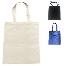Cotton Reusable Eco Friendly Grocery Blank Shopping Tote Totes Bag Bags 14 x 16