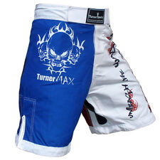 TurnerMAX MMA Shorts Boxing UFC Fight Grappling Cage Trunks Martial Arts MMA