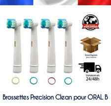 TETES BROSSETTES Type Precision Clean brosse à dents Braun Oral B OralB