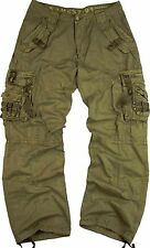 BNWT: MEN'S CASUAL MILITARY CARGO PANTS SOLID COLOR SIZE: 32-54 #12211