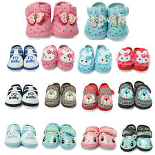 Kids Baby Cartoon Infant Toddler Soft Sole Anti-slip Velcro Shoes Sneakers Crib