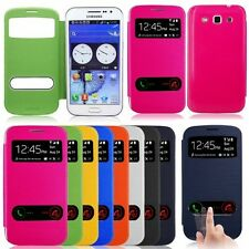 New Flip PU Leather Case Cover Smart Wake For Samsung Galaxy Win i8552 GT-I8552