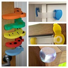 child door draw safety lock door stopper safety guard sharp corner protection