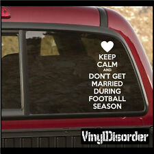 Keep Calm and Don't Get Vinyl Wall Decal -keepcalmanddontgetmarriedduringEY