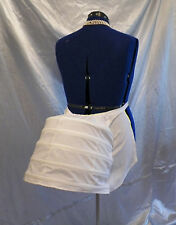 Victorian Steampunk Dickens SASS Wedding Dress Gown Costume Cage Frame Bustle