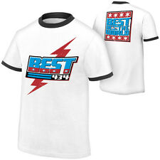 WWE AUTHENTIC CM Punk SPECIAL EDITION 434 Best In The World Mens White T-shirt