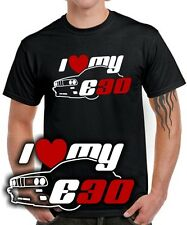 Fun T-SHIRT * I LOVE MY E30 * Tuning 3er Treffen m3 * retro kult bmw SATIRE