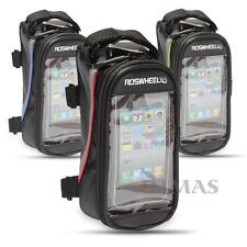ROSWHEEL Bike Bicycle Cycling Frame Pannier Front Tube Cell Phone Bag Pouch